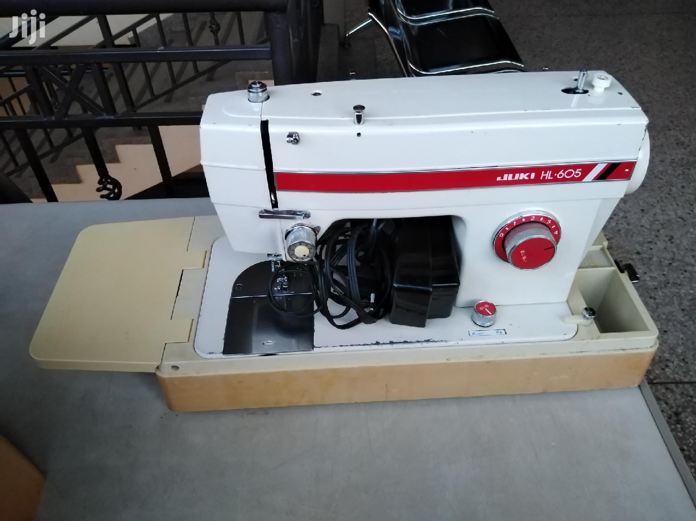 Archive: Juki Electric Chain Stitch Sewing Machine.