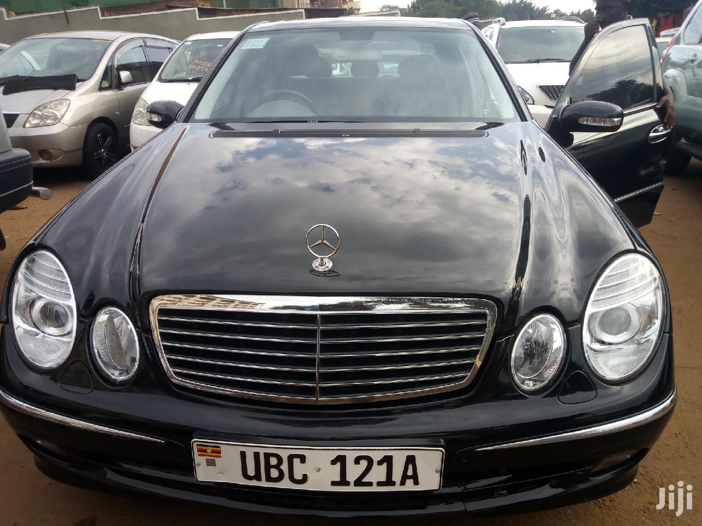 Mercedes-Benz E320 2005 Black
