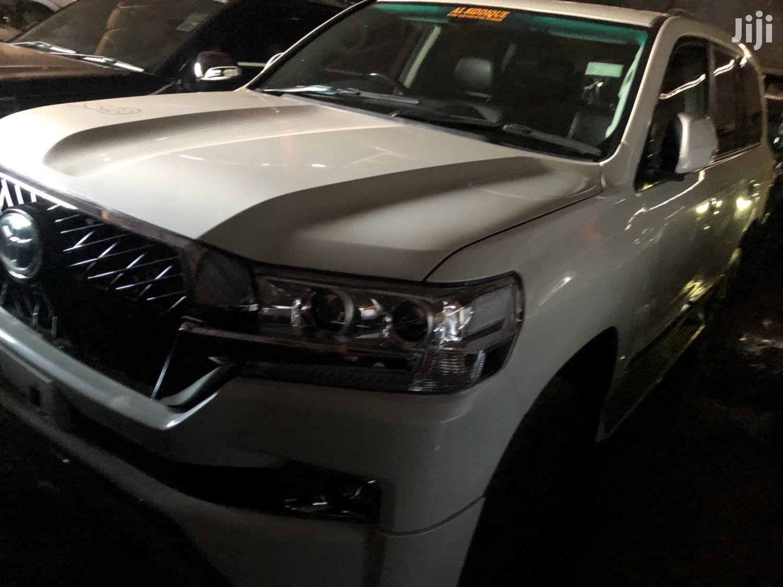 Toyota Land Cruiser 2017 White   Cars for sale in Kampala, Central Region, Uganda