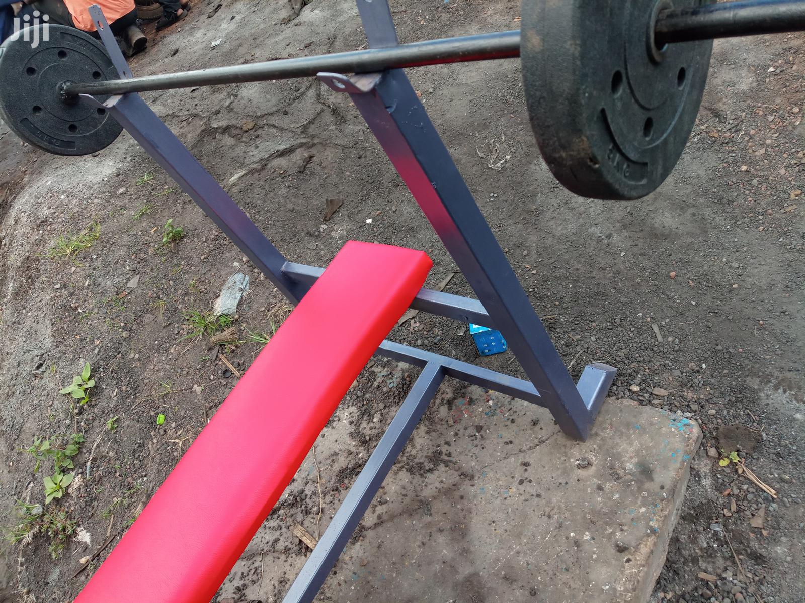 Gym Flat Bench | Sports Equipment for sale in Kampala, Central Region, Uganda