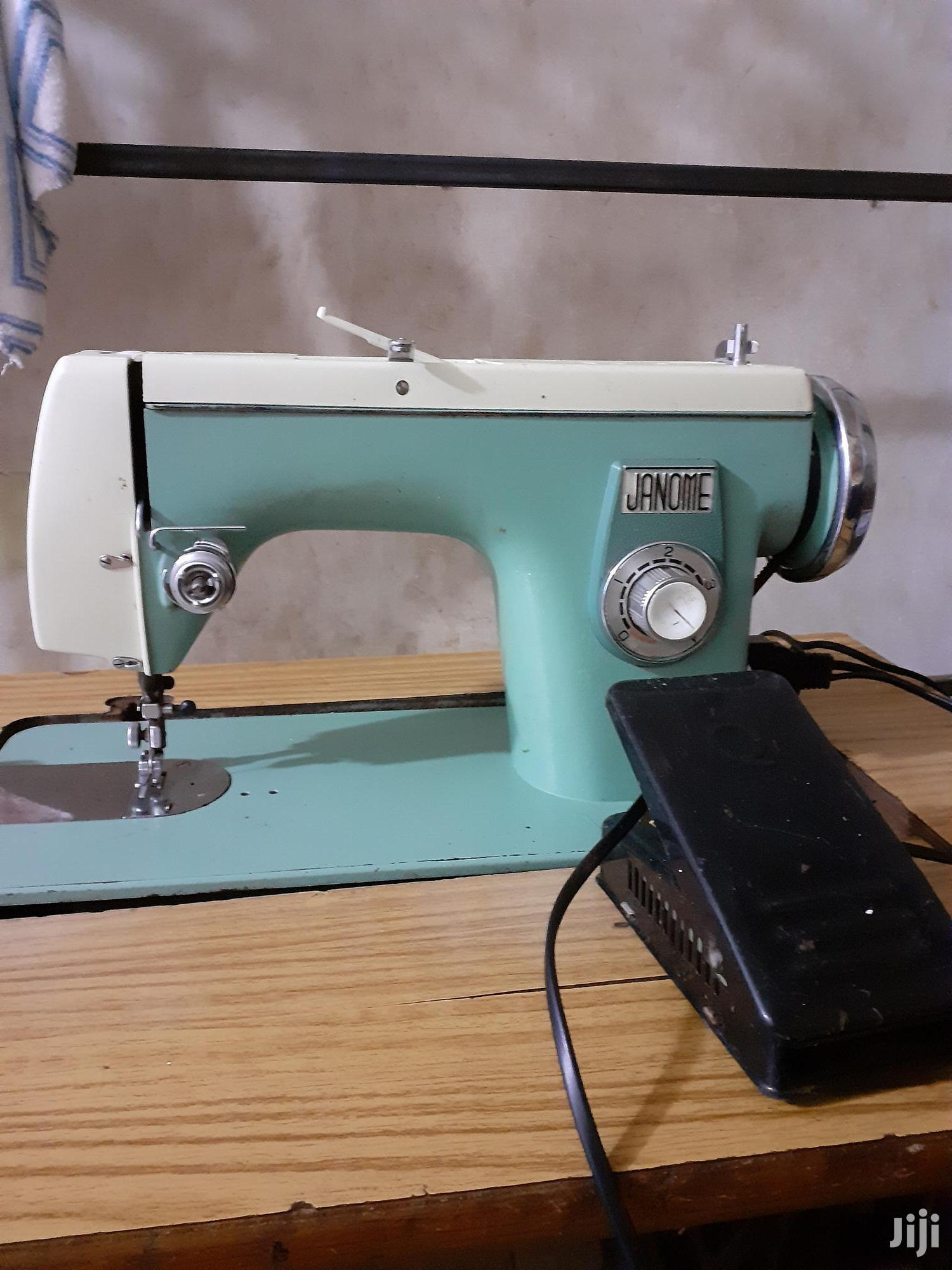 Archive: Janome Electric Sewing Machine