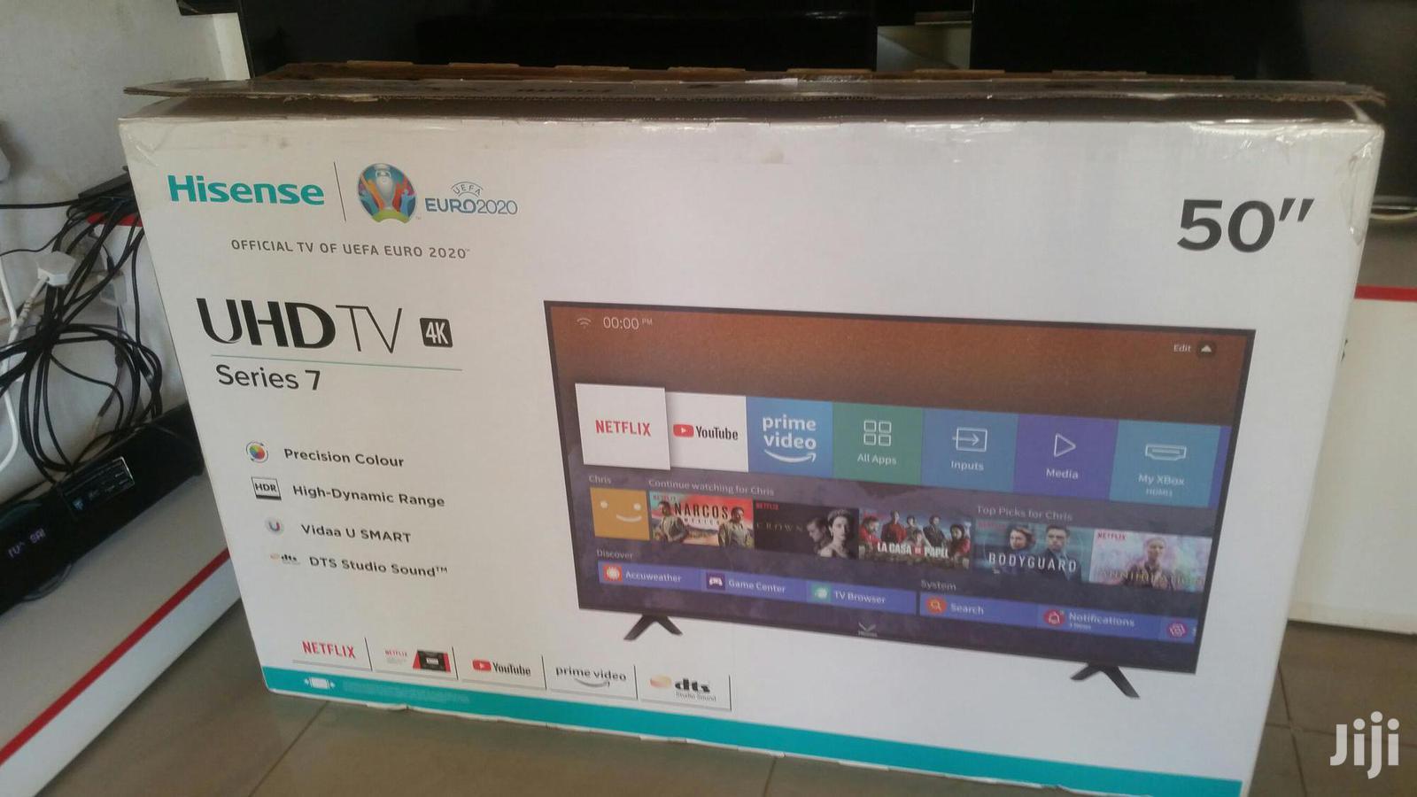 50 Inches Led Hisense TV Smart