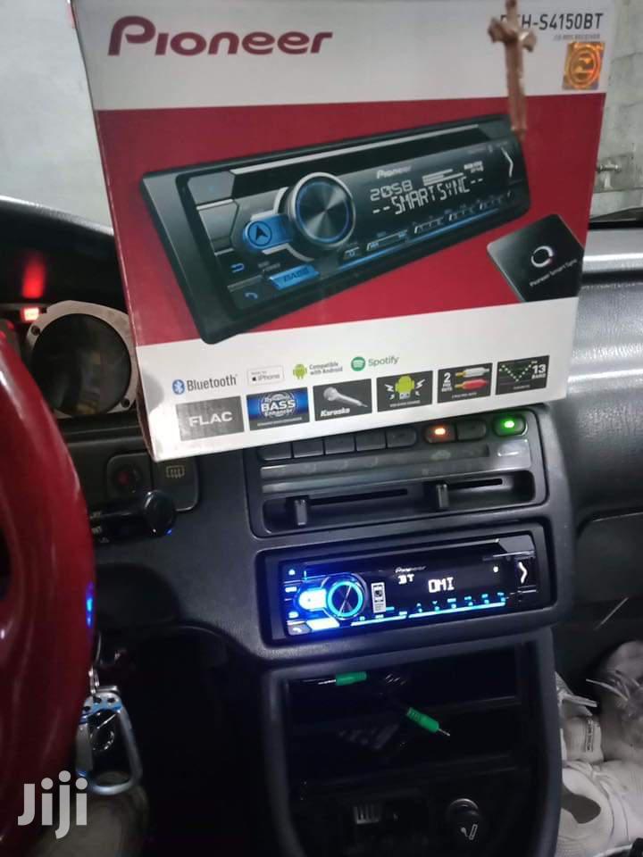 Pioneer Radio With Bluetooth