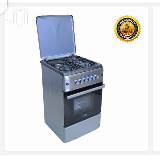 Blueflame Cooker 50x55cm 3 Gas + 1 Electric Gas Oven - Stainless   Kitchen Appliances for sale in Kampala, Central Region, Uganda
