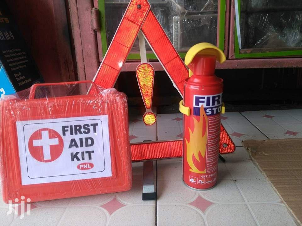 The Complete Set Of Emergency First Aid