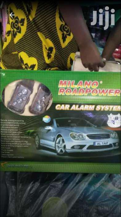 Millano Auto Starter Engine Car Alarm
