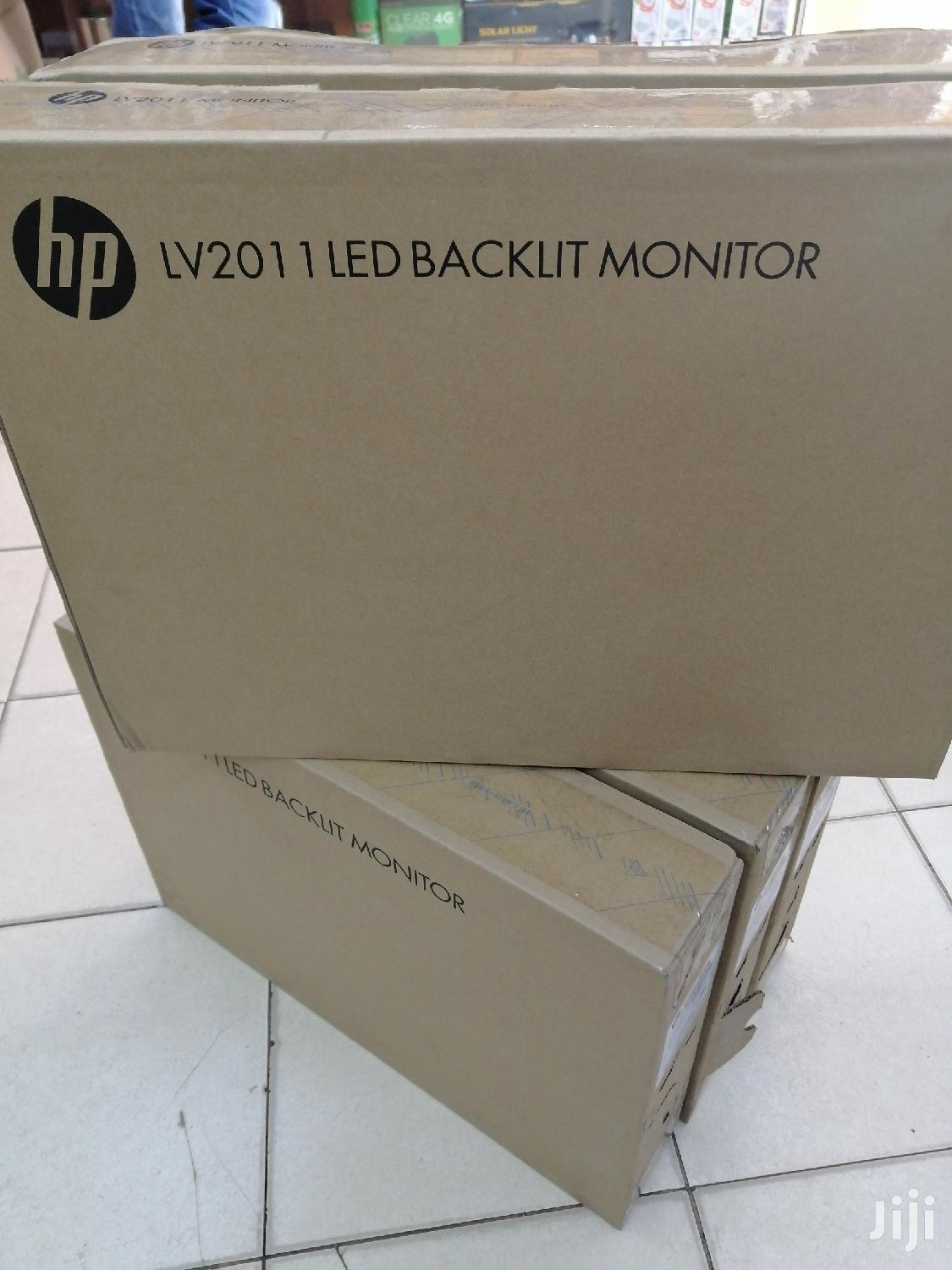 "Hp 20"" New Monitor At Give Away Price"