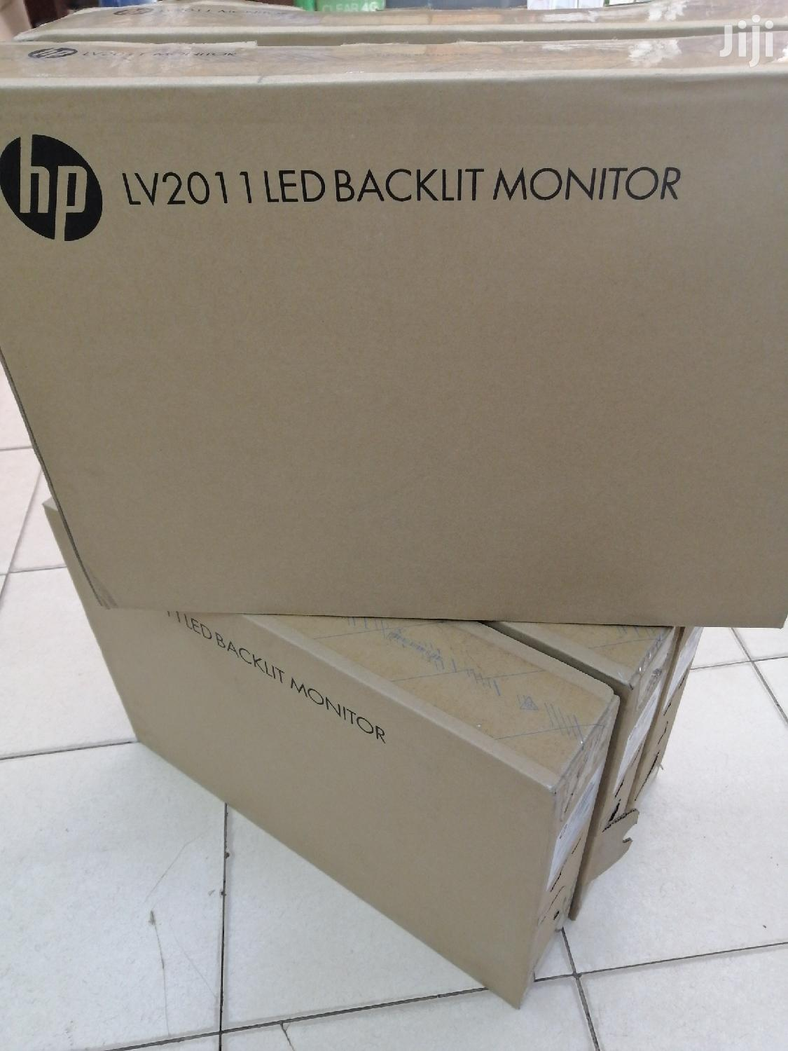 "Hp 20"" New Monitor At Give Away Price 