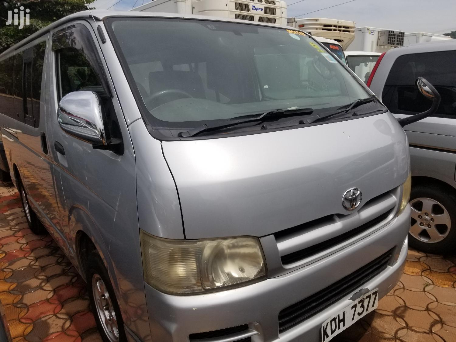 Archive: New Toyota HiAce 2006 Silver