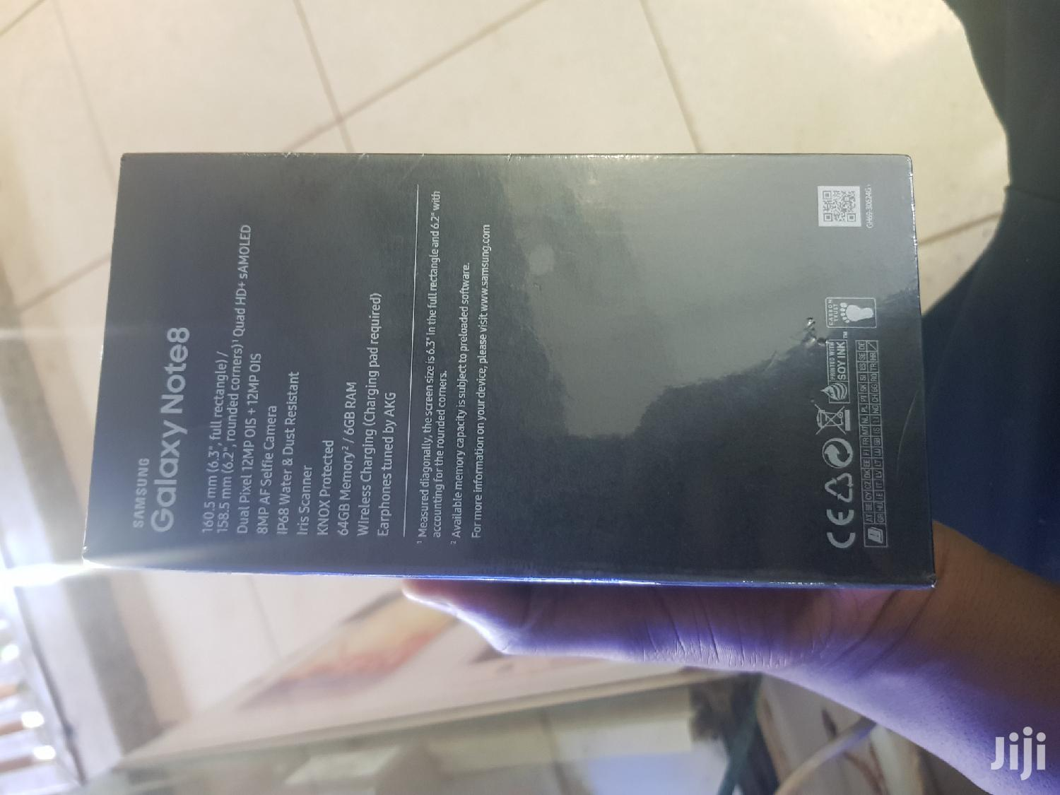 New Samsung Galaxy Note 8 64 GB | Mobile Phones for sale in Kampala, Central Region, Uganda