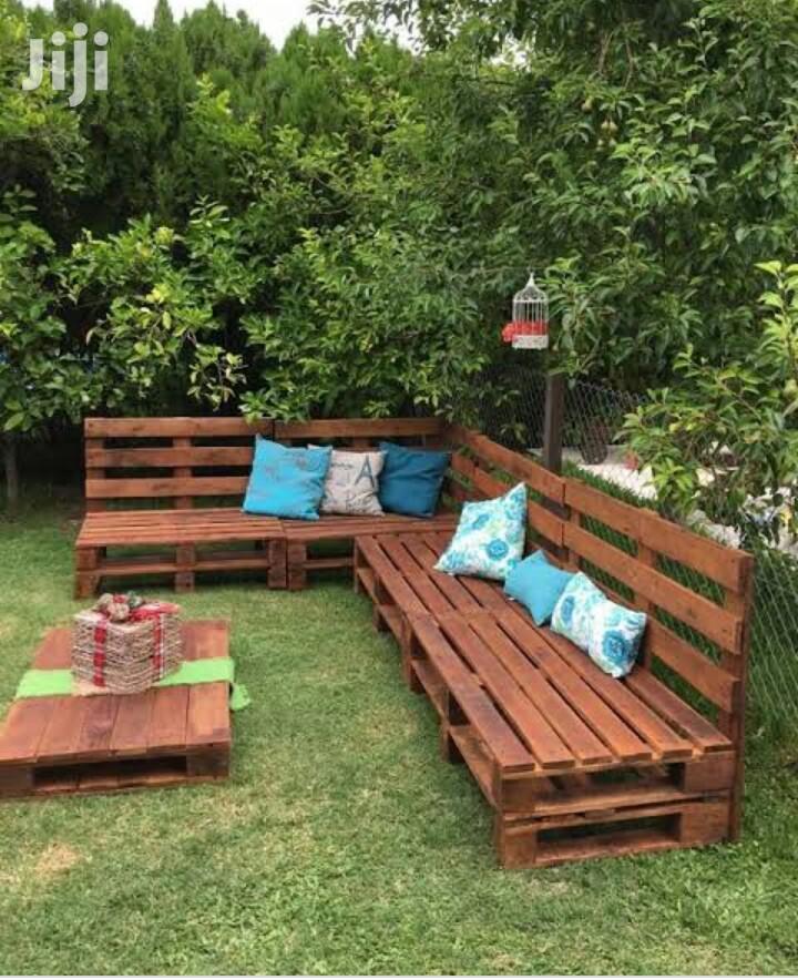 Incredible Garden Pallet Seats in Kampala - Furniture ...
