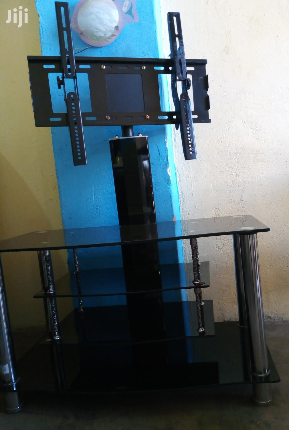 TV Stand With Tempered Glass | Furniture for sale in Wakiso, Central Region, Uganda