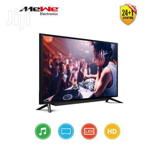 Mewe - 43 Inch HD Digital LED TV - Black