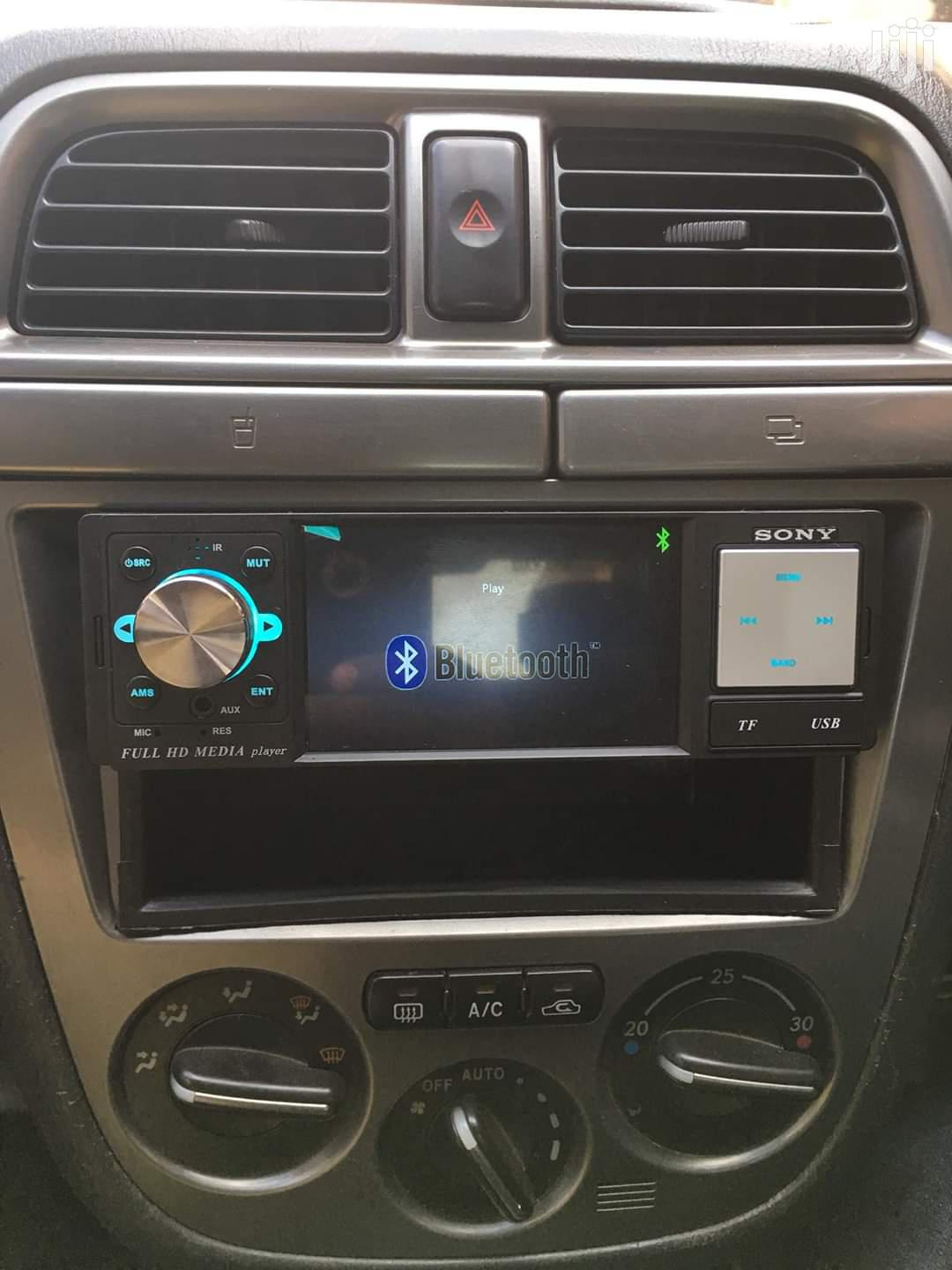 Car Radio With Small Screen