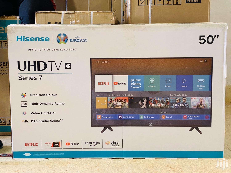 Hisense 50 Inches 4K UHD Smart TV