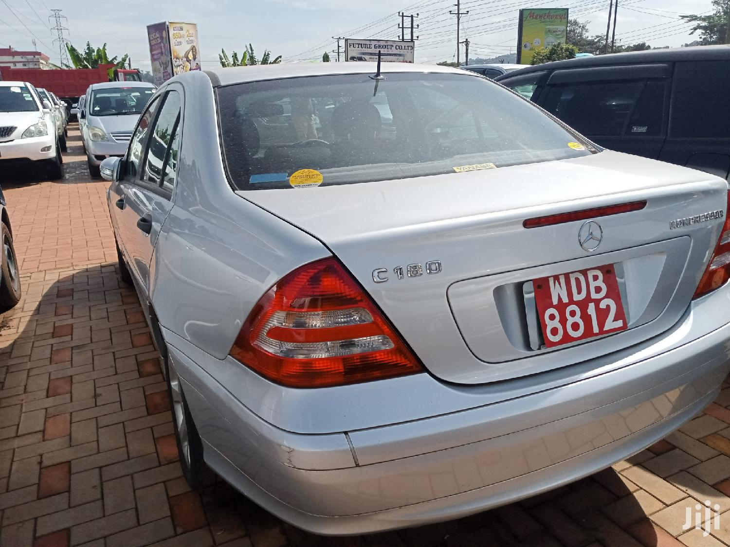New Mercedes-Benz C180 2006 Silver | Cars for sale in Kampala, Central Region, Uganda