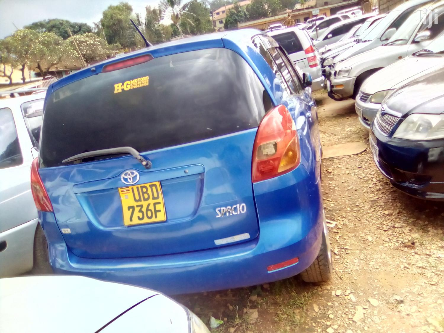 Toyota Spacio 2001 Blue | Cars for sale in Kampala, Central Region, Uganda