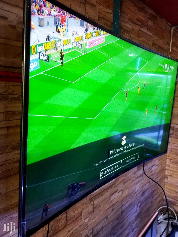 Samsung Curved Smart UHD 4k TV 55 Inches | TV & DVD Equipment for sale in Kampala, Central Region, Uganda