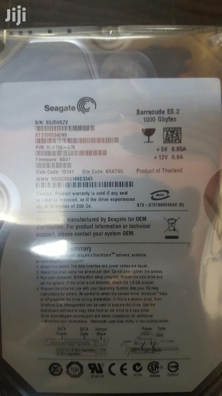 Archive: Seagate Hard Drive 1T