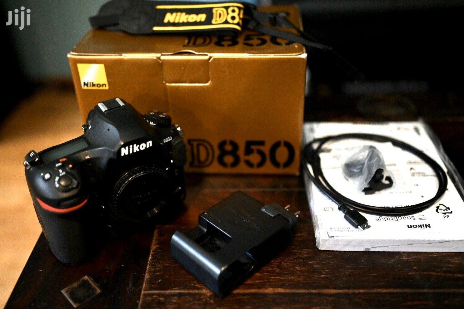 Archive: Nikon D850 45.7MP Digital SLR Camera - Black (Body Only)