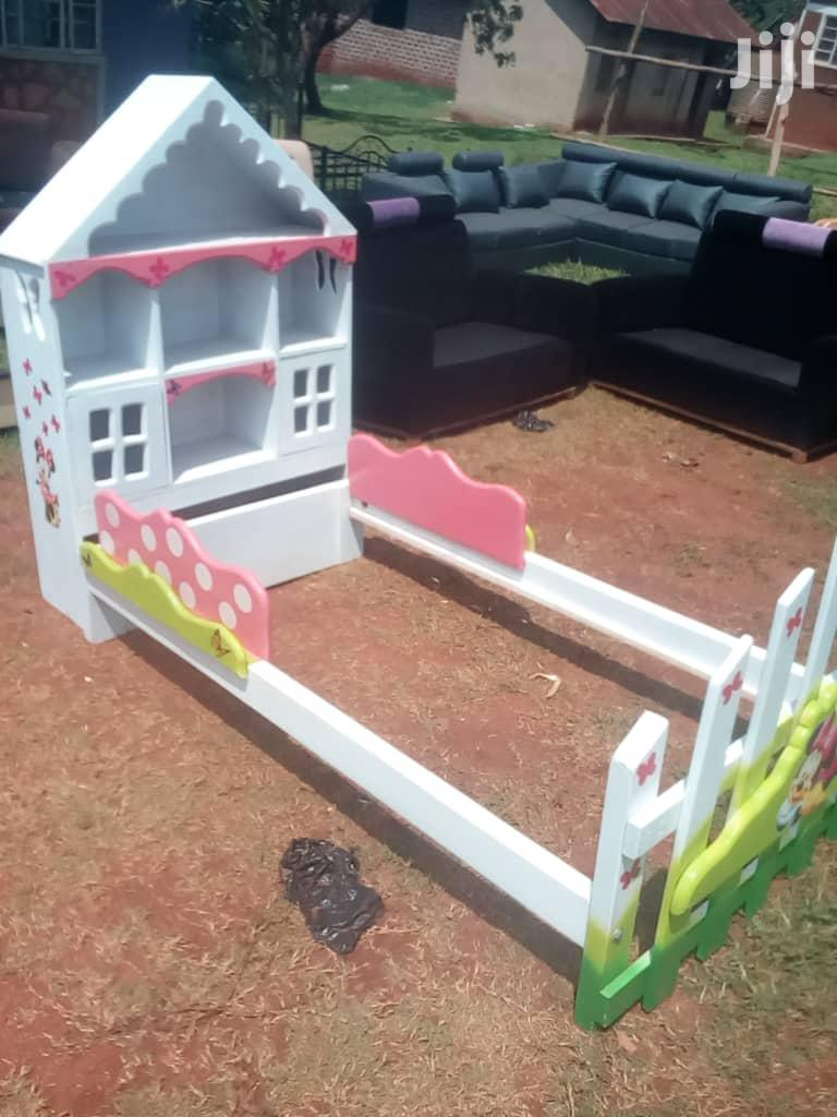 Archive: Baby Girl's House Bed