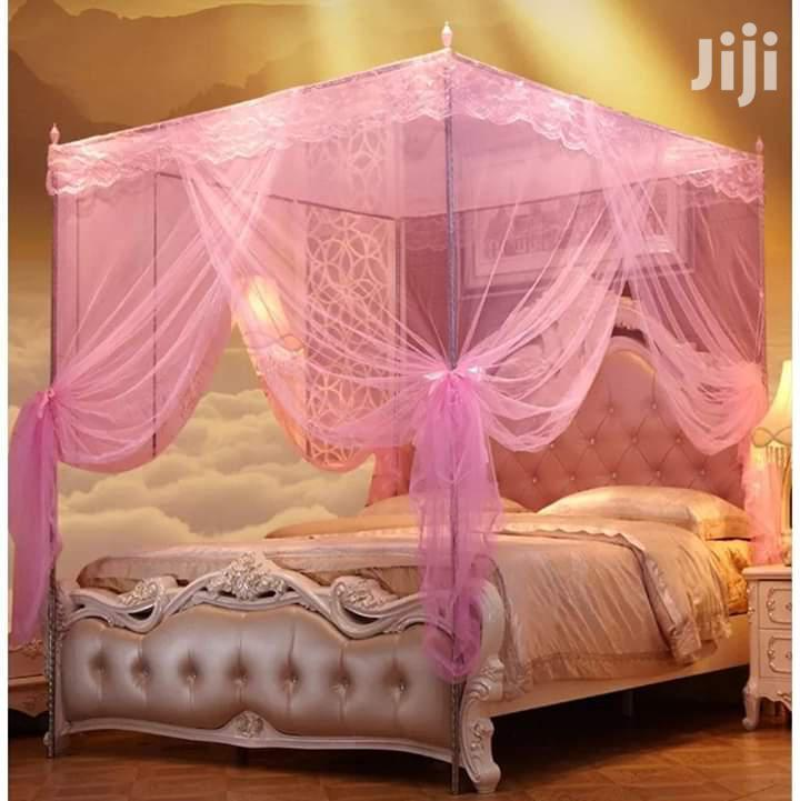 4 Stands Flat Top Mosquito Net