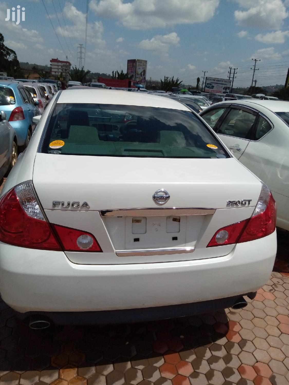 Nissan Fuga 2007 White | Cars for sale in Kampala, Central Region, Uganda