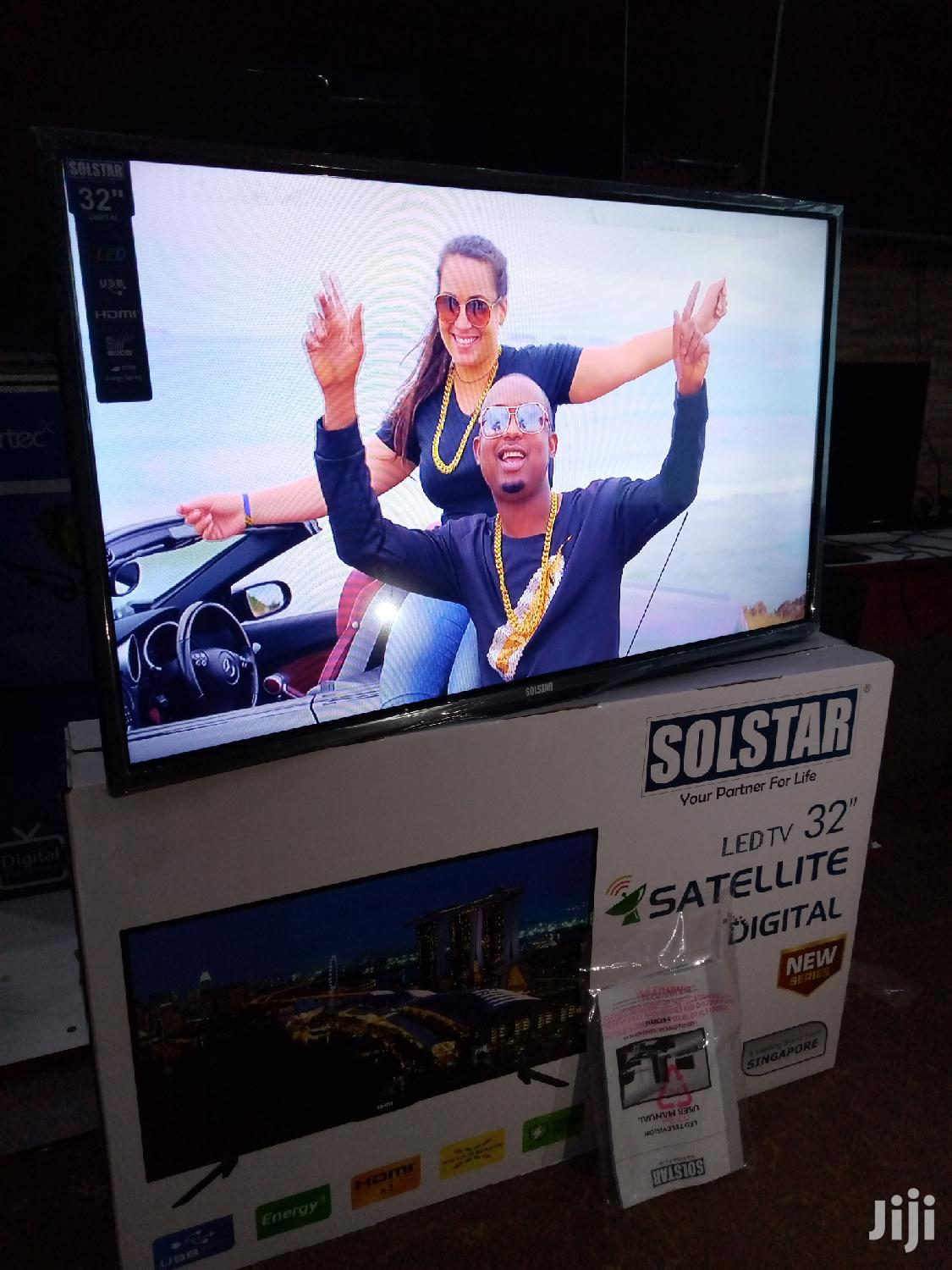 Solstar LED Digital Satellite Flat Screen TV 32 Inches