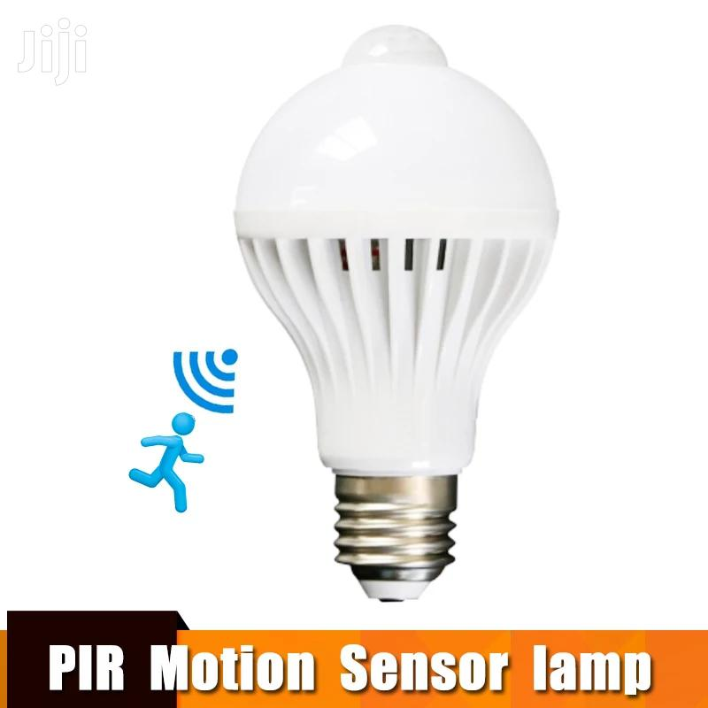 Led Bulb With Motion Sensor Smart Light Bulb E27 Led Light Bulb 7w
