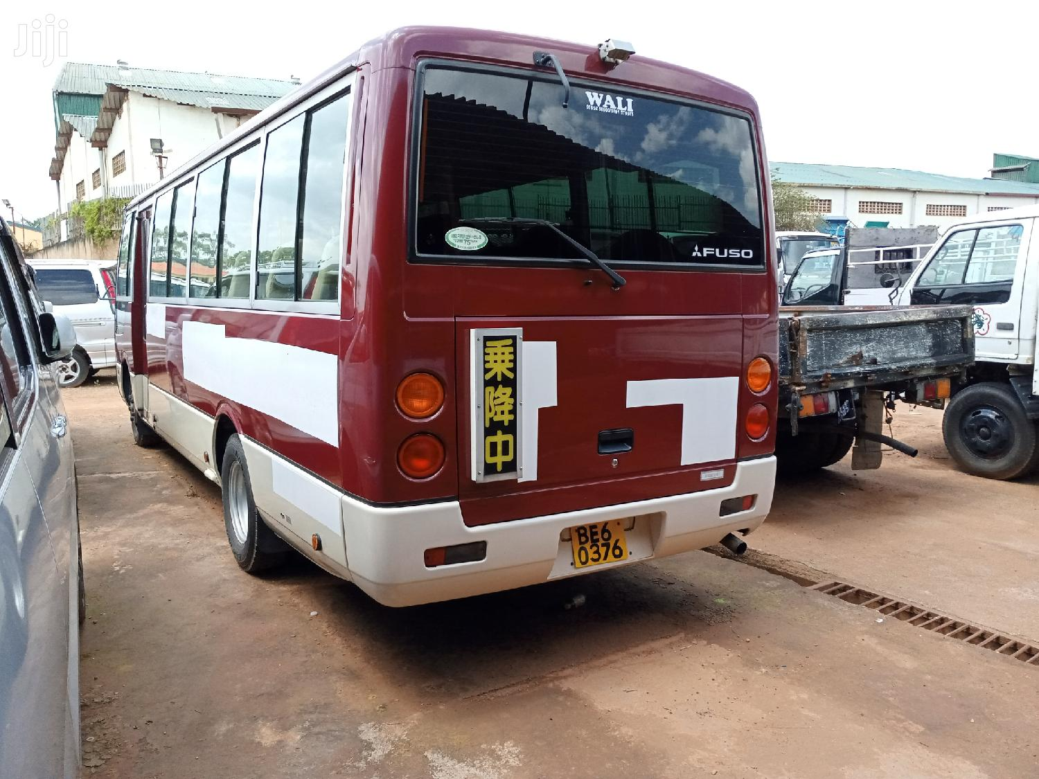 Mitsubishi Rosa Bus 2006 Red