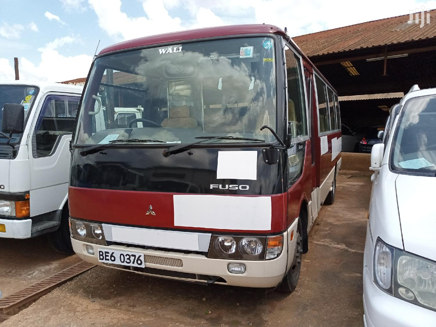 Mitsubishi Rosa Bus 2006 Red | Buses & Microbuses for sale in Kampala, Central Region, Uganda
