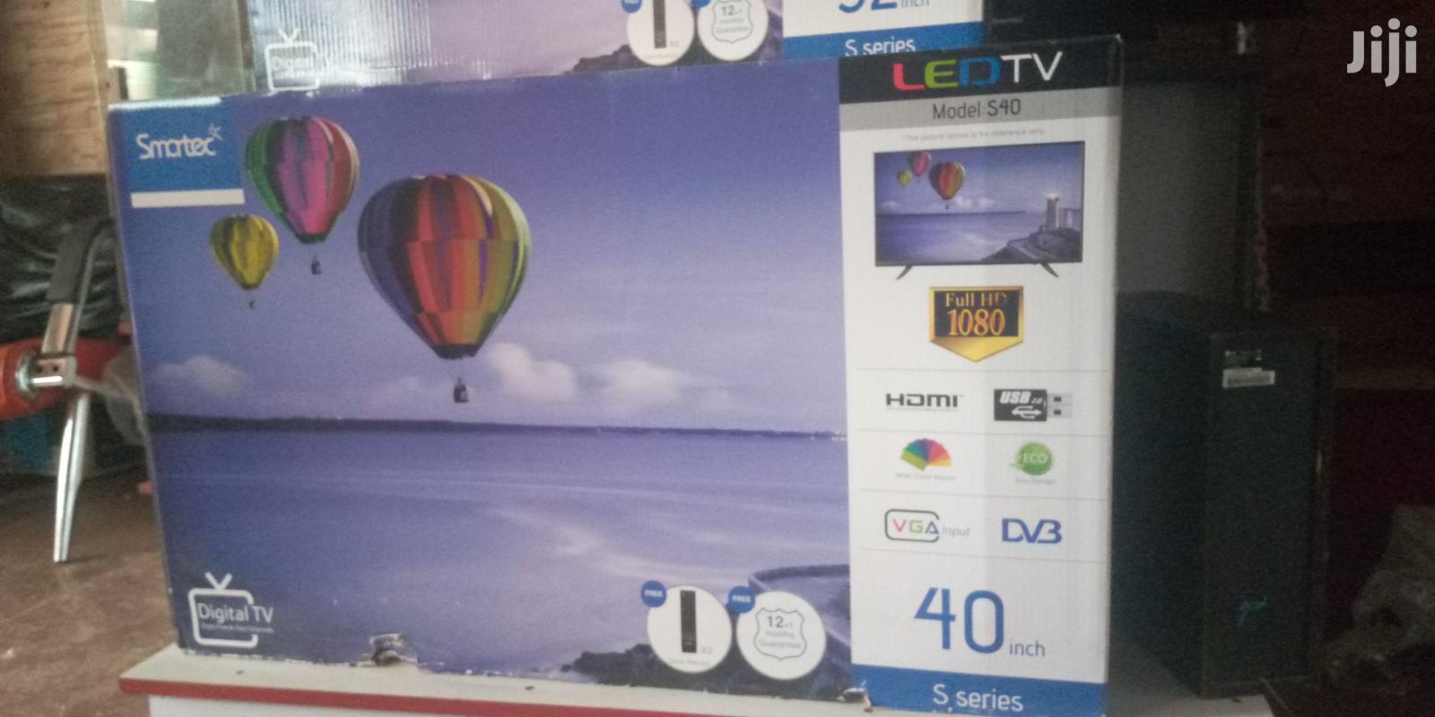 Smartec Flat Screen Digital Tv 40 Inches