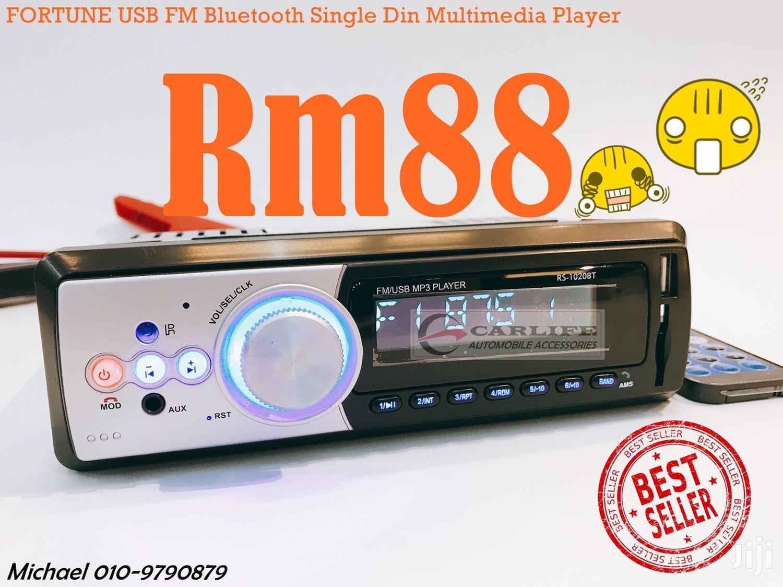 Fortune Bluetooth Single Din Car Radio