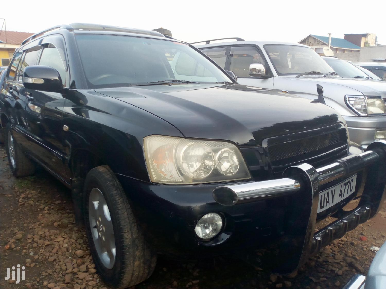 Toyota Kluger 2003 Black