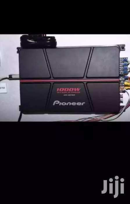 Pioneer Amplifier Dope