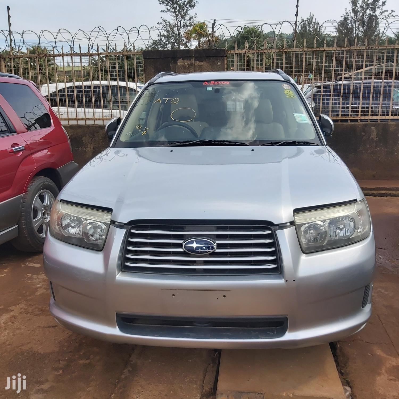 Subaru Forester 2006 Silver
