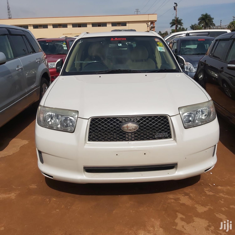Subaru Forester 2006 White