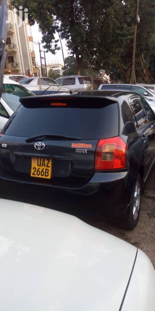 Archive: Toyota Allex 2003 Black