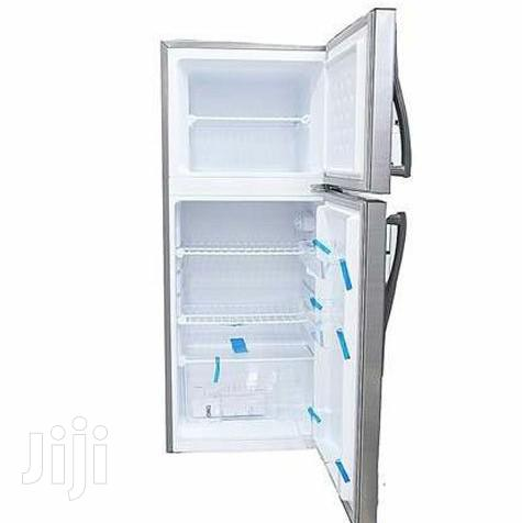 Changhong CD-155 - Silver Double Door Refrigerator - 155L Fridge