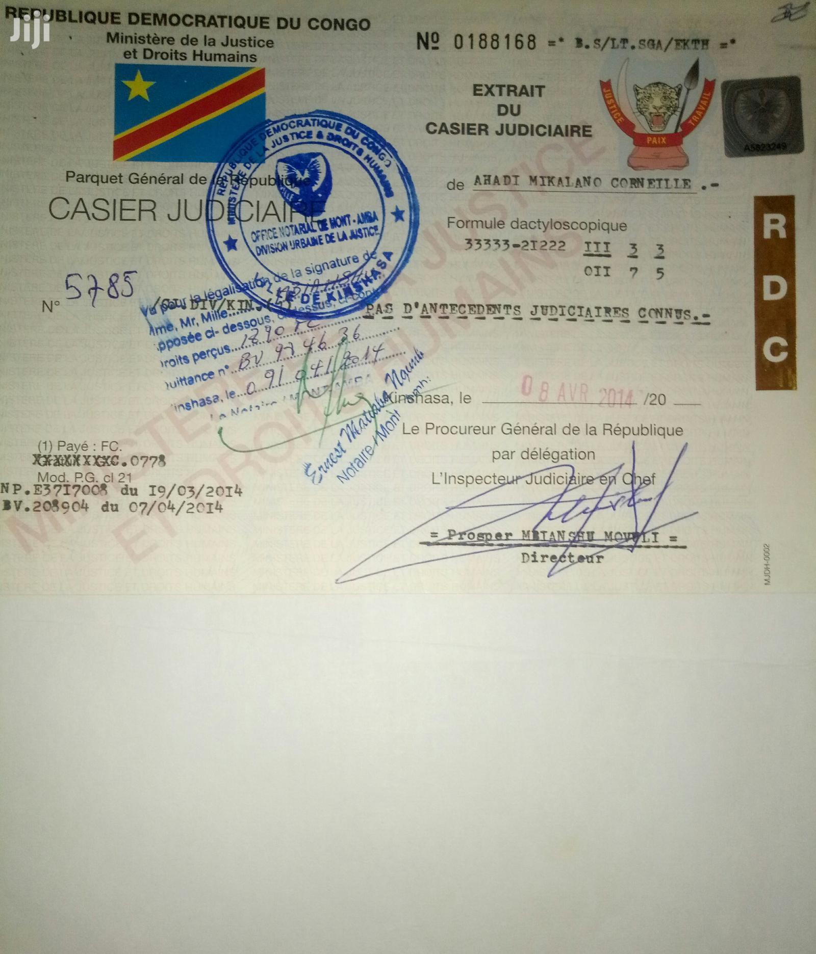 Hotel CV | Hotel CVs for sale in Kampala, Central Region, Uganda