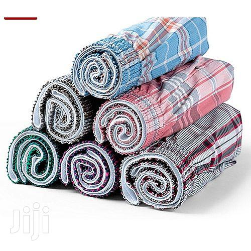 Six Pack of 100% Cotton Boxers for MEN