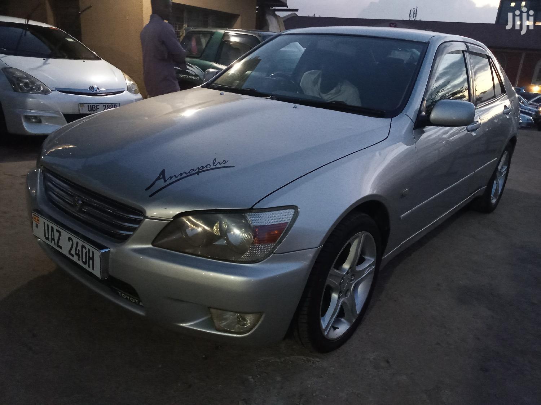 Archive: Toyota Altezza 2004 Silver
