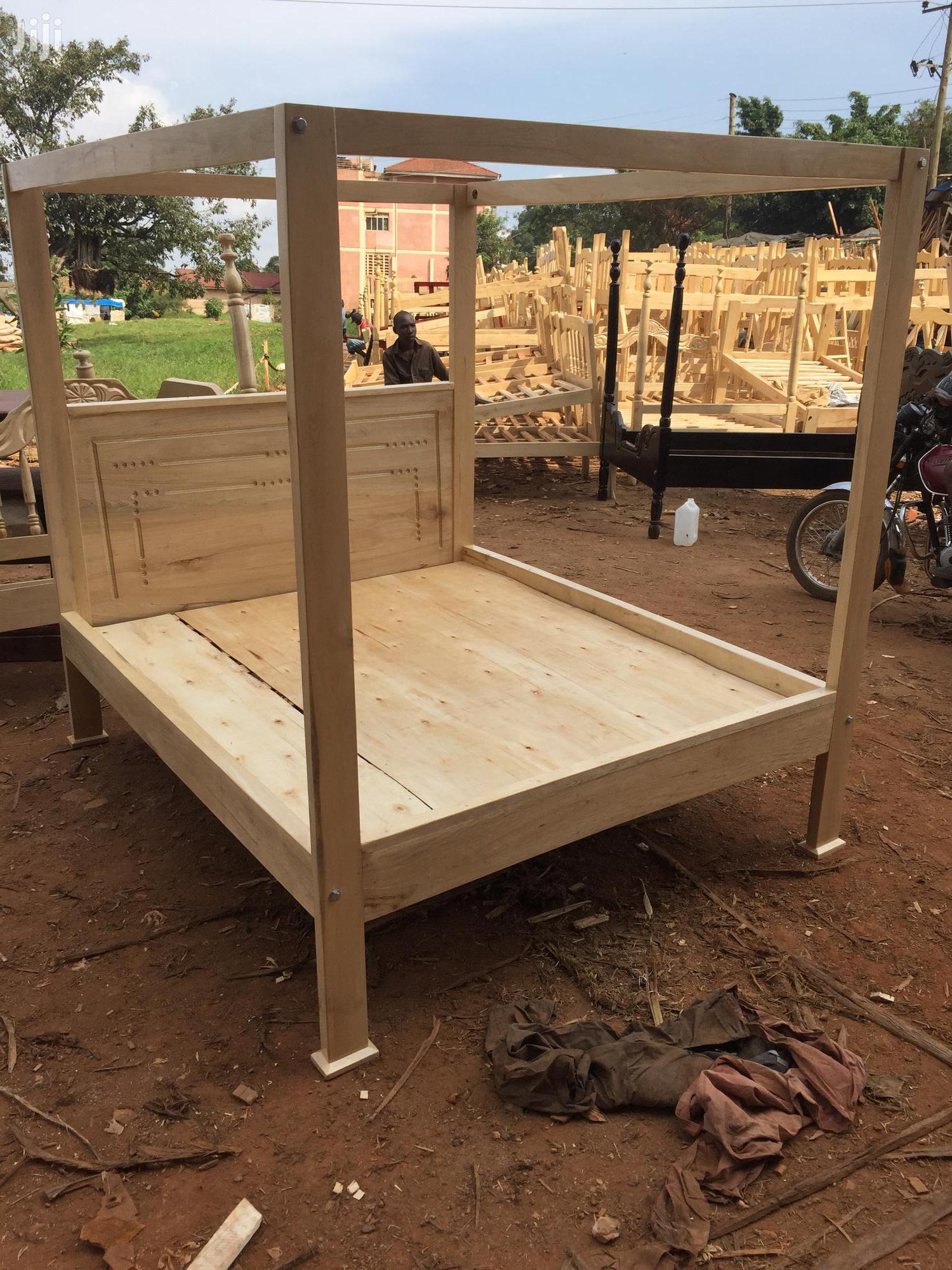 Queensize Simple Bed