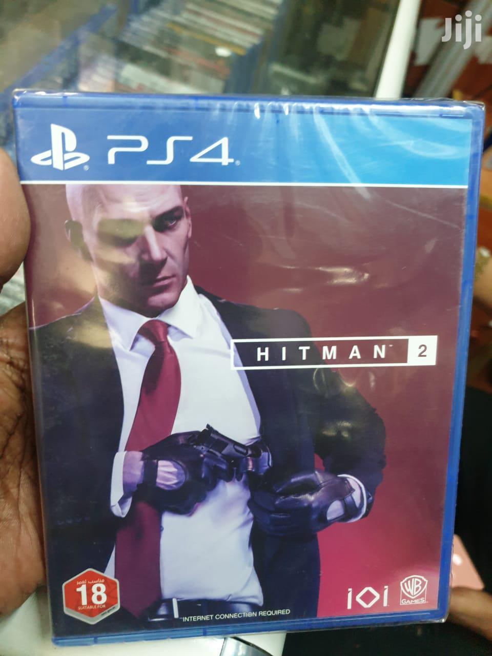 Ps4 Hitman Game