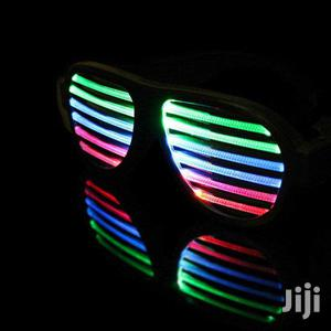 Led Rechargeable Sound Sensitive Glasses