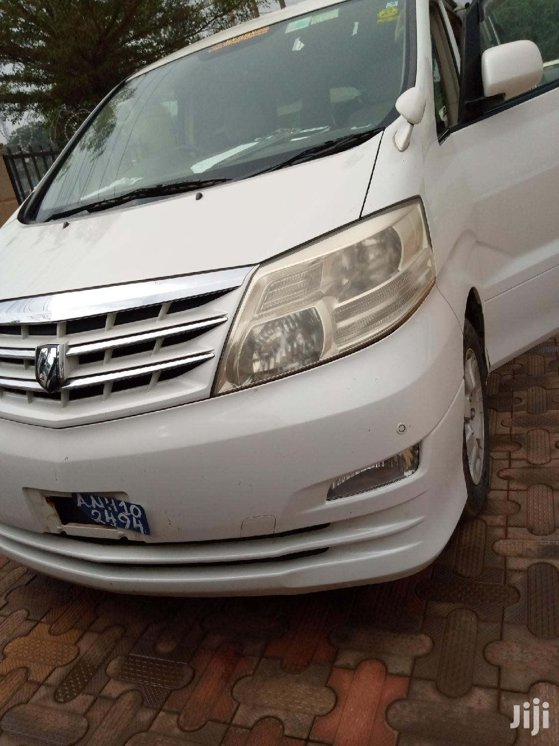 Archive: New Toyota Alphard 2005 White