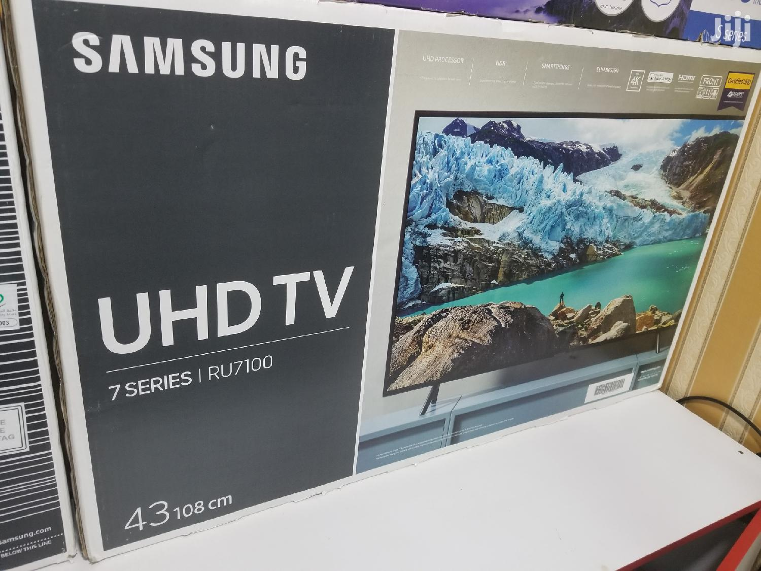 Archive: Samsung UHD 4K TV 43 Inches
