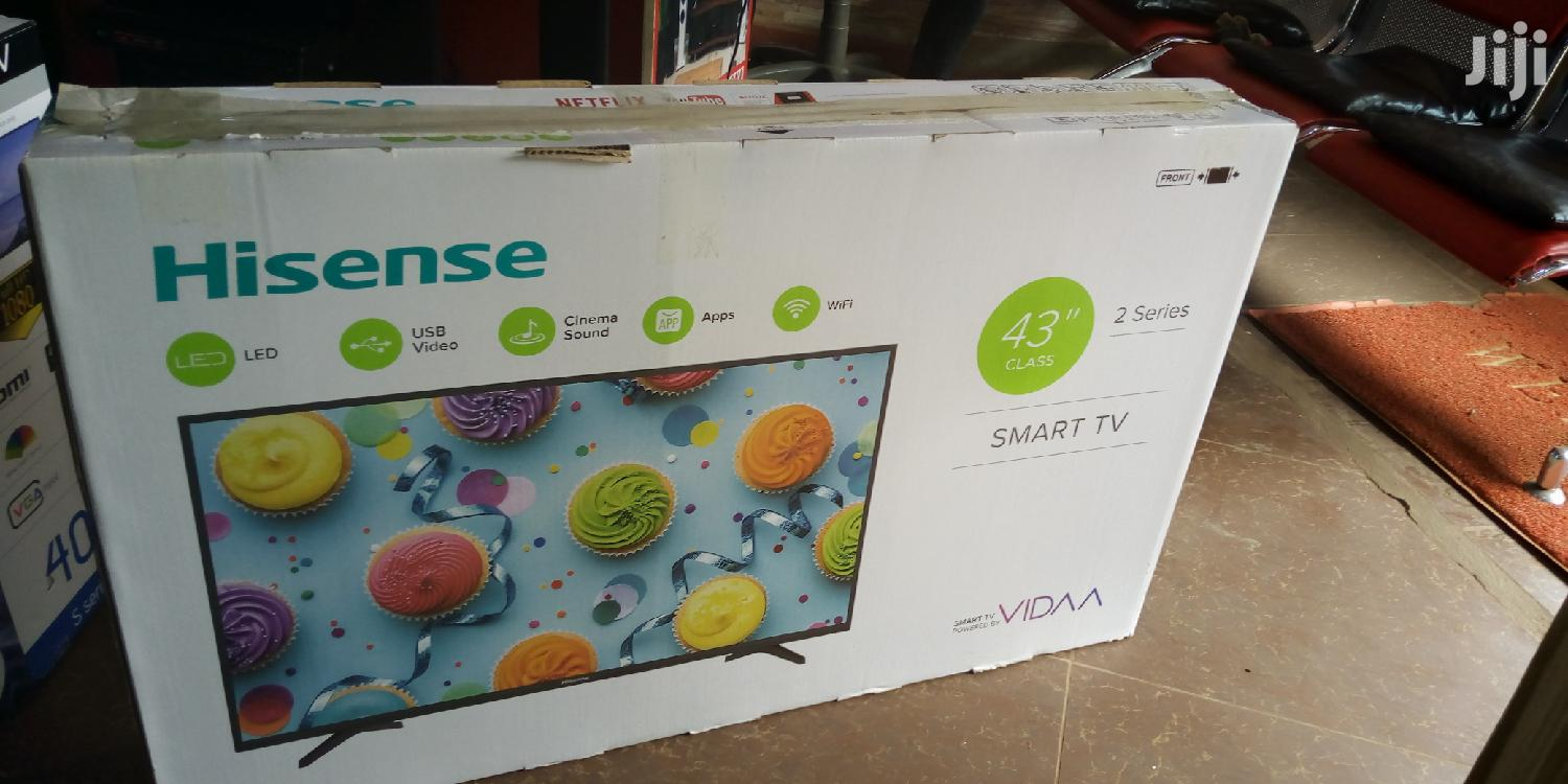 Hisense 43 Inches Smart Tv | TV & DVD Equipment for sale in Kampala, Central Region, Uganda