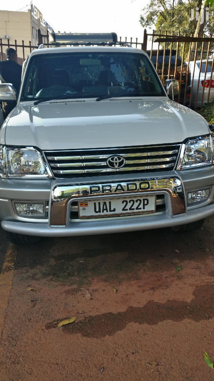 Toyota Land Cruiser 1999 White | Cars for sale in Kampala, Central Region, Uganda