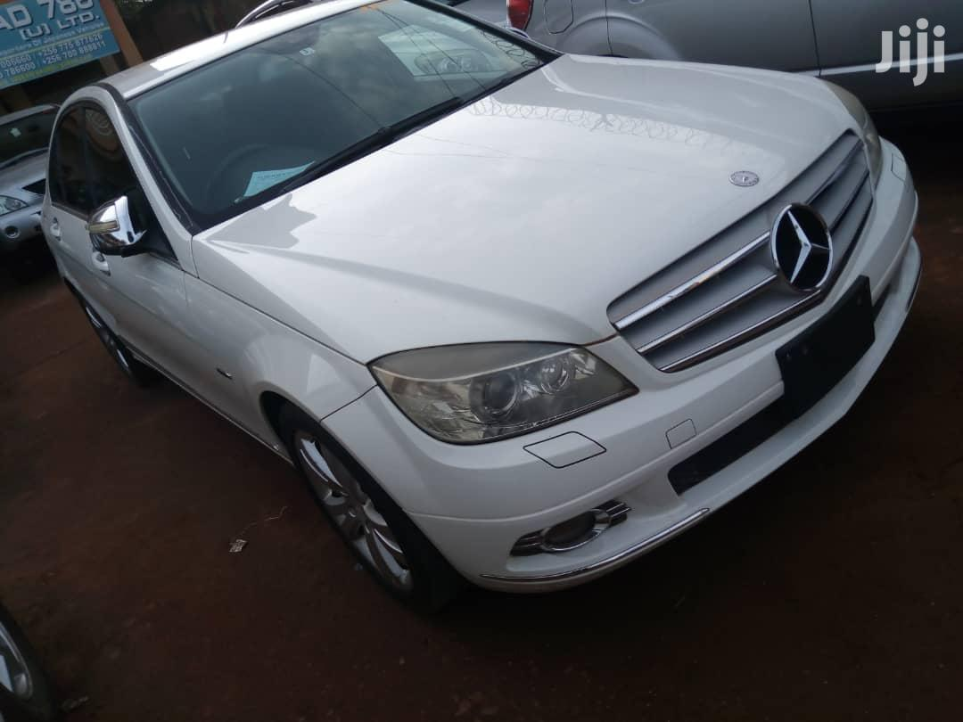 Mercedes-Benz C200 2013 White